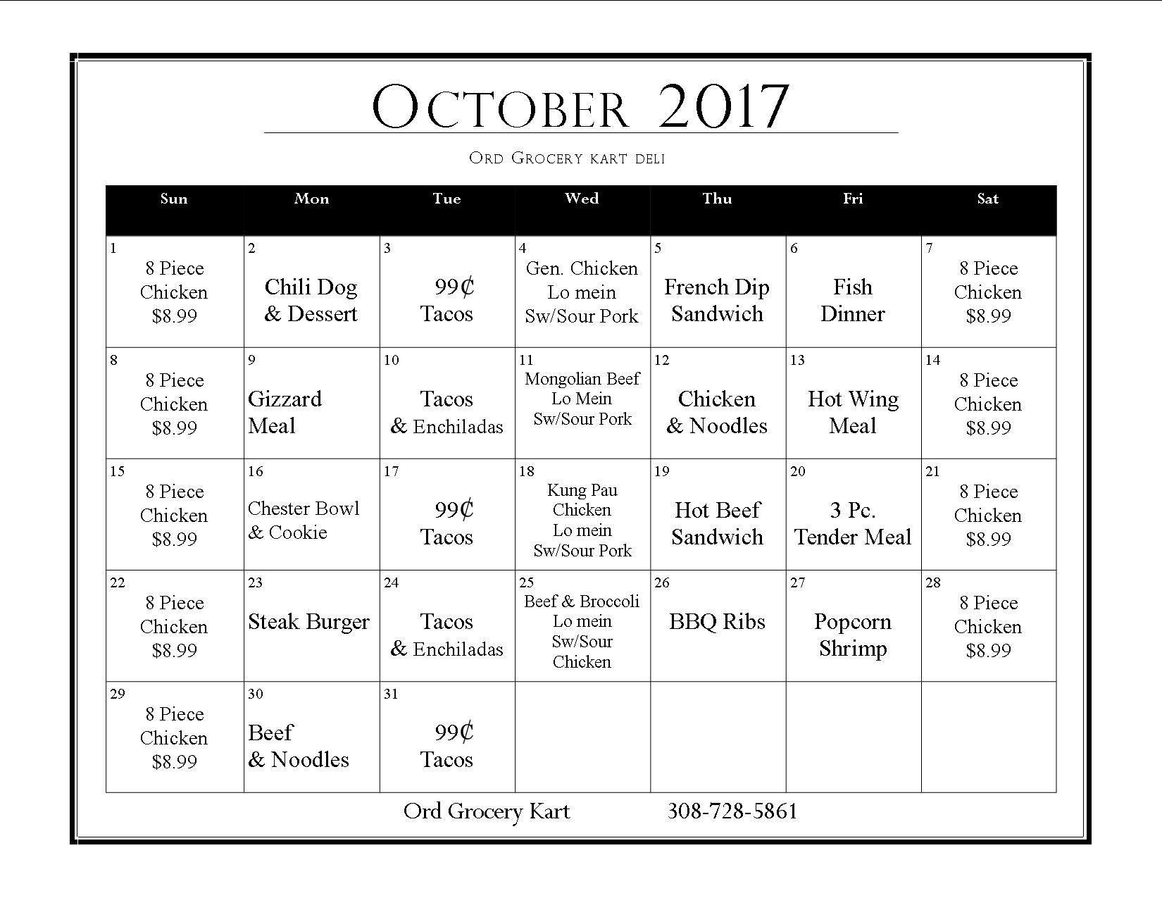 October Deli