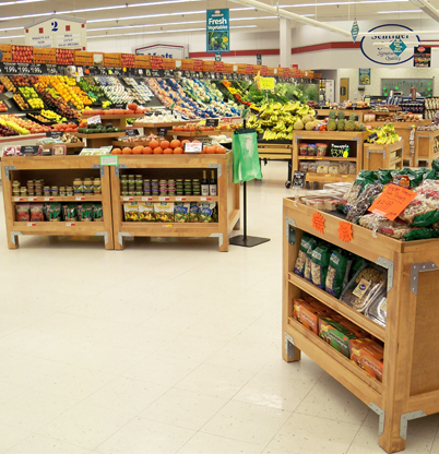 Come check out our new produce section!