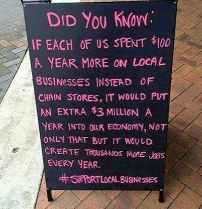 #ShopLocalBusiness