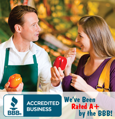 We've Been Rated A+ by the BBB!