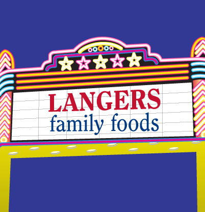 DVD Rental at Langer's Foods
