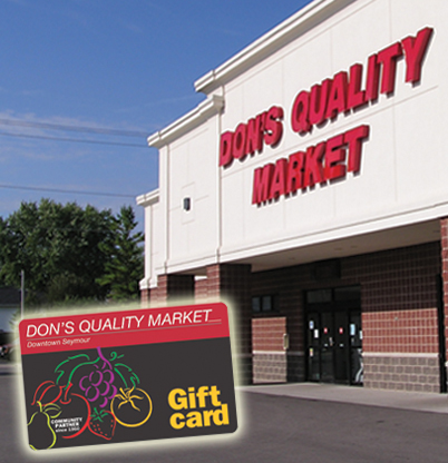 Don's Quality Market has Gift Cards!