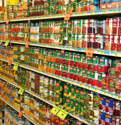 Canned Goods!