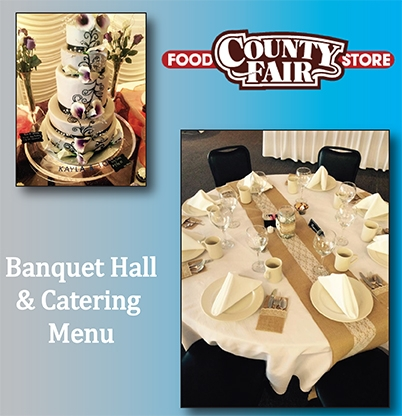 Banquet Hall and Catering Menu