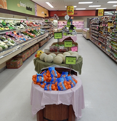 Great Produce Selection