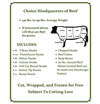 Cut-to-Order Beef