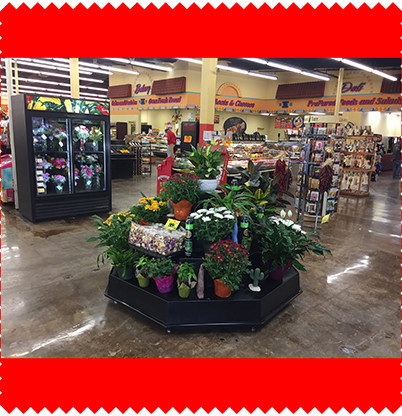 Come In and See Our Floral Section