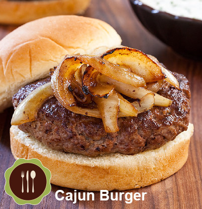 Cajun Burger Recipe