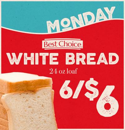 White Bread Monday!