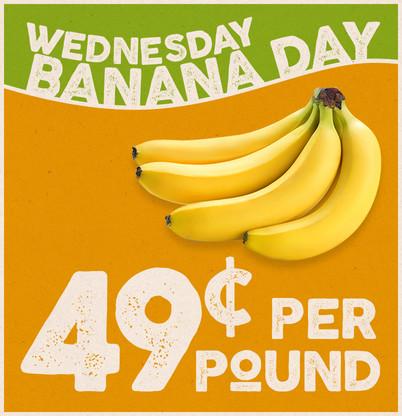 Banana Day Wednesday!
