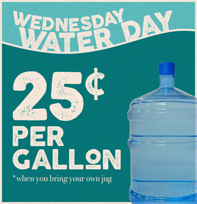 Water Day Wednesday
