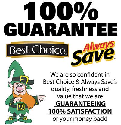 Quillin's 100% Guarantee