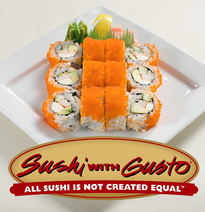 Sushi with Gusto