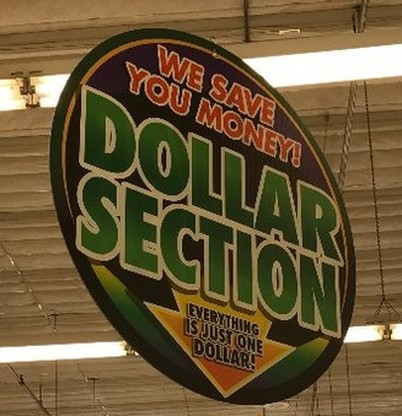 Dollar Section