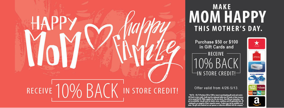 Mother's Day BlackHawk Promotion