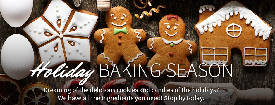 HOLIDAY BAKING SEASON