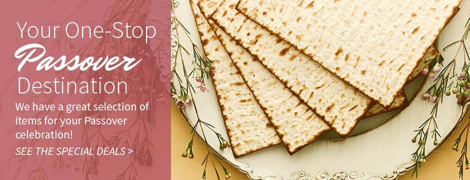 Your One-stop Passover Destination