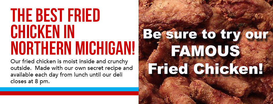 The Best Fried Chicken in Northern Michigan!