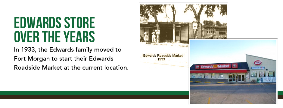 Edwards Store Throughout the Years