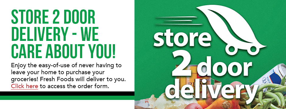 Store 2 Door Delivery - We Care About You!