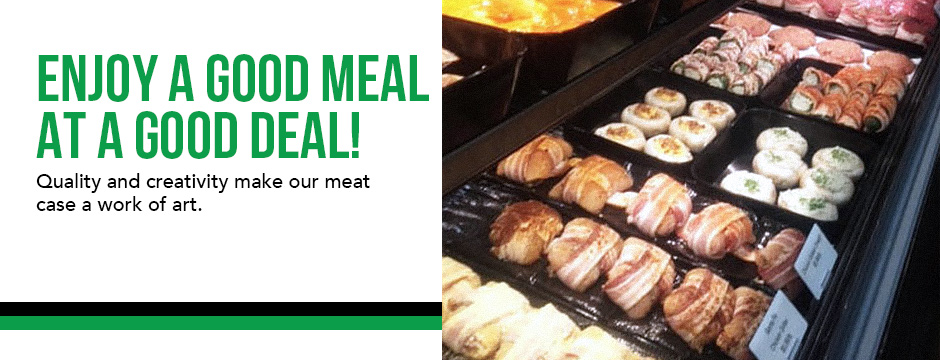 Enjoy a good meal at a good deal!