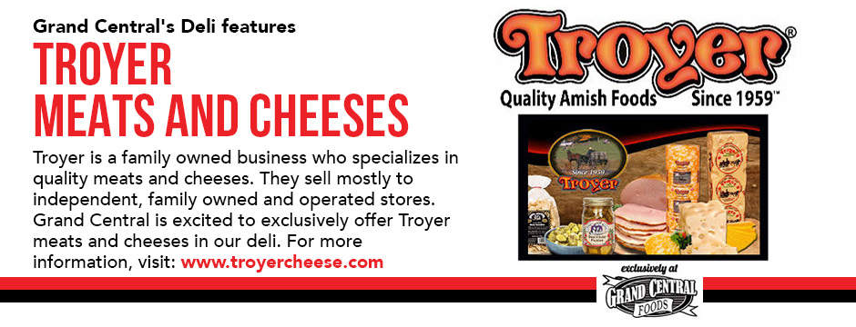 Troyer Meats and Cheeses