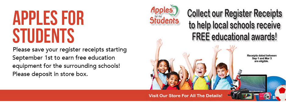Apples for Students Program