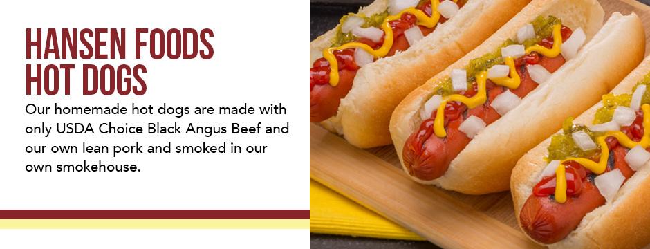 Hansen Foods Hot Dogs
