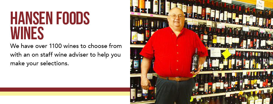 Hansen Foods Wine