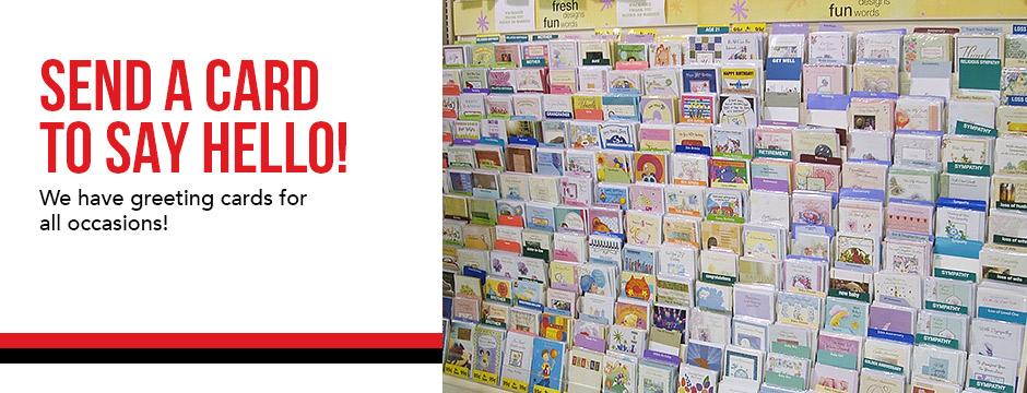 Send a Card to Say Hello!