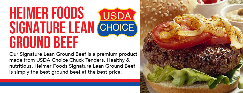 Heimer Foods Signature Lean Ground Beef