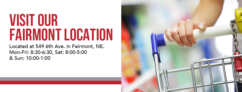 Visit our Fairmont Location!