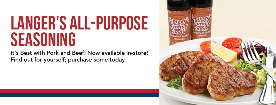 Langer's All-Purpose Seasoning