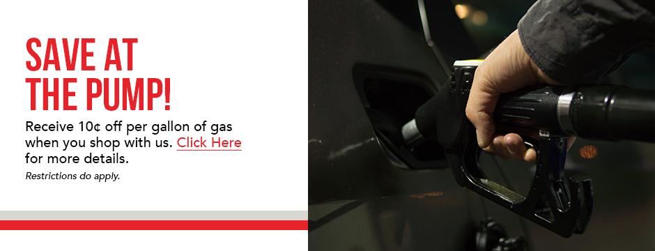 Save At The Pump!