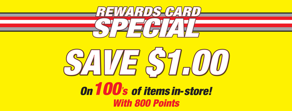 Rewards Card Special