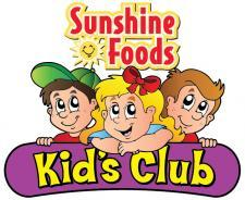 Sunshine Kid's Club sidebar