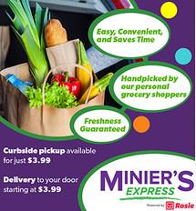 Minier's Express Online Shopping