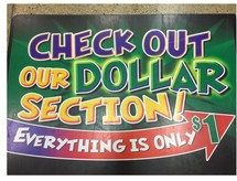 Dollar Section sidebar