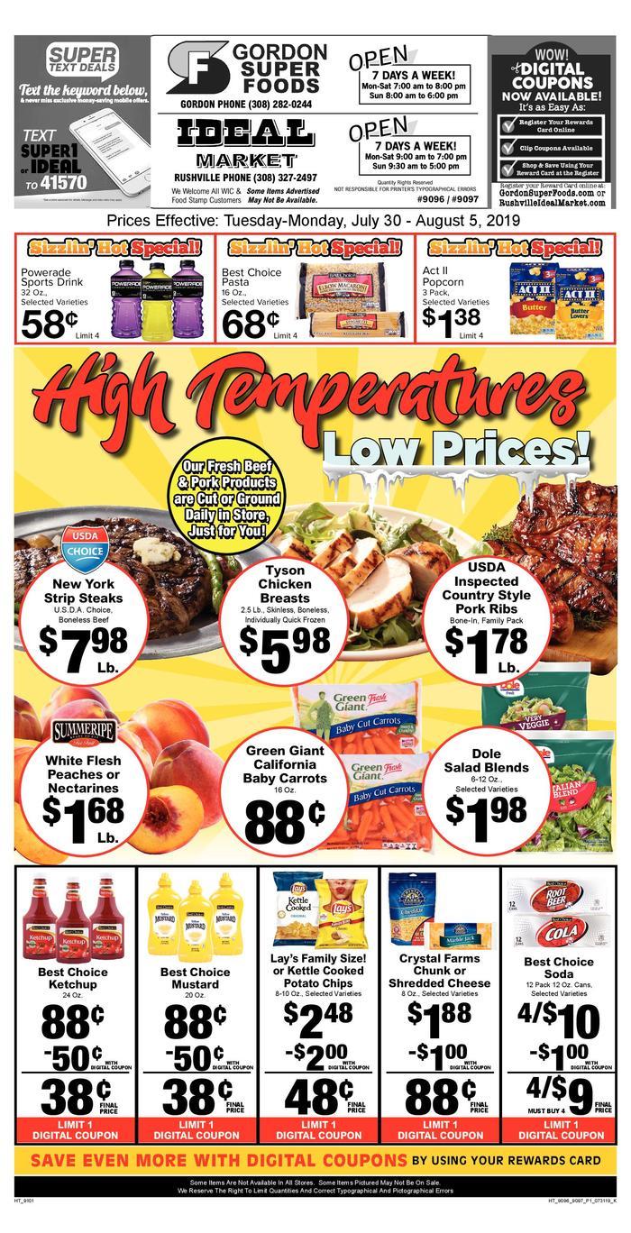 Ideal Market   Ad Specials